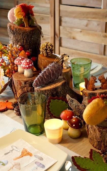C mo decorar la mesa de navidad paperblog for Como decorar la mesa de navidad