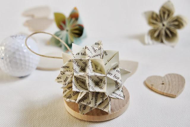 Origami en el rbol de navidad paperblog - Arbol de navidad origami ...
