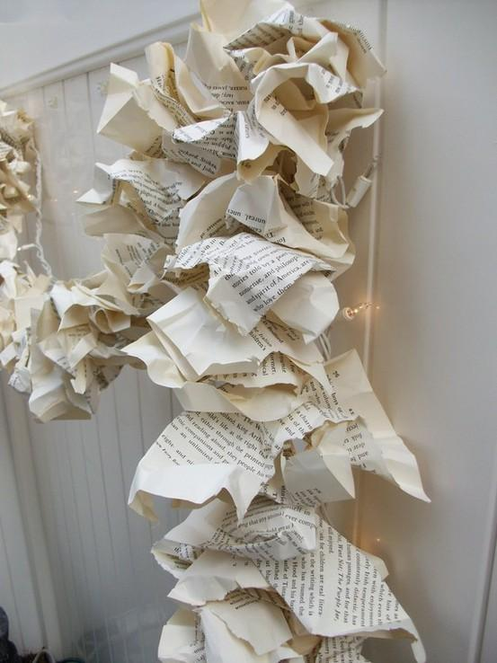 Esta navidad decora con papel paperblog - Adornos de navidad con papel periodico ...