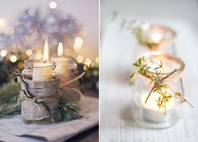 Ilumina la navidad paperblog - Centros navidenos caseros ...