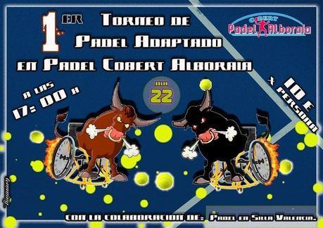 I Torneo Adaptado Padel Cobert Alboraia