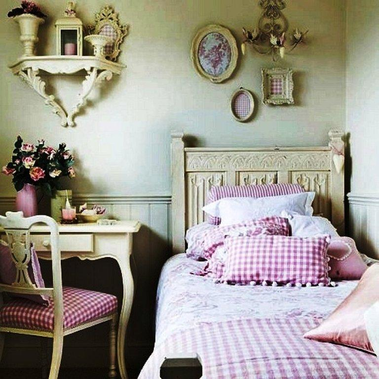 dormitorio shabby chic paperblog. Black Bedroom Furniture Sets. Home Design Ideas