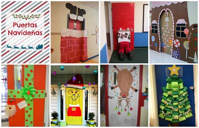 Recursos ideas para decorar y preparar el aula para - Como decorar un salon en navidad ...