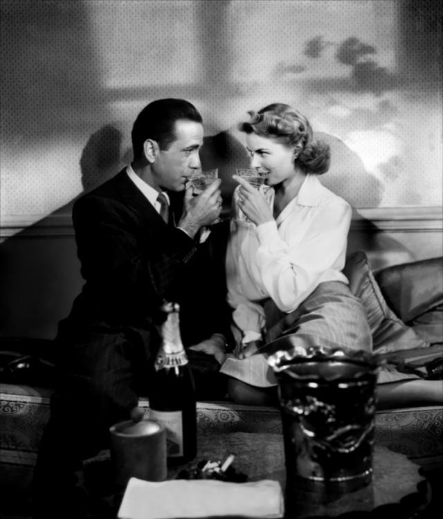 ... se toman en nuestras series y películas favoritas. Hoy, Casablanca