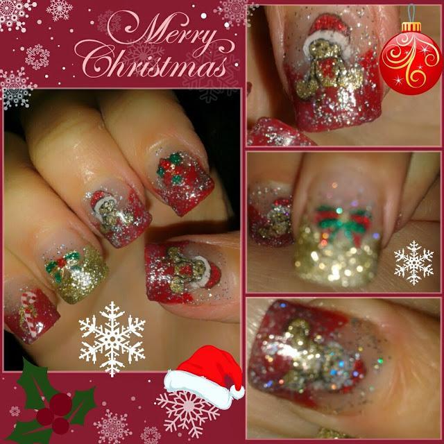 Diseños de uñas para navidad - Paperblog