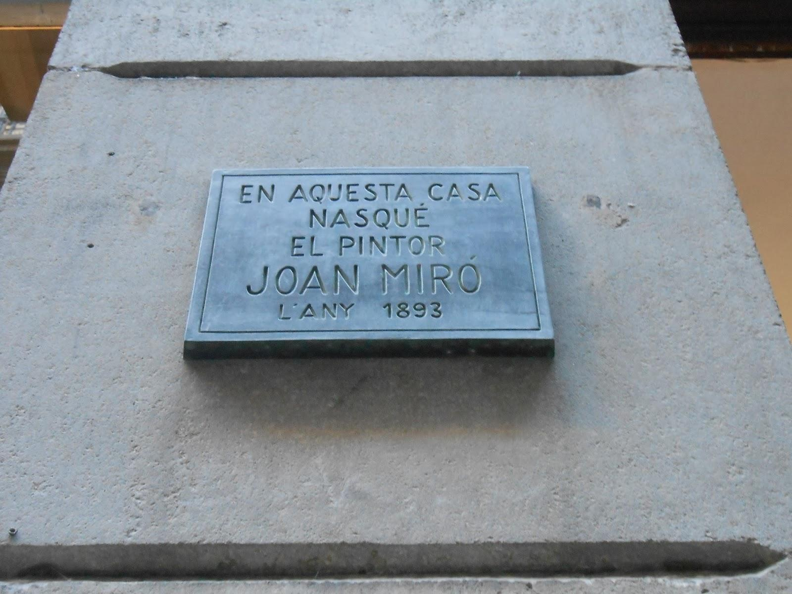 Joan mir 1893 1983 barcelona 8 12 2013 paperblog - Ebanistas en barcelona ...
