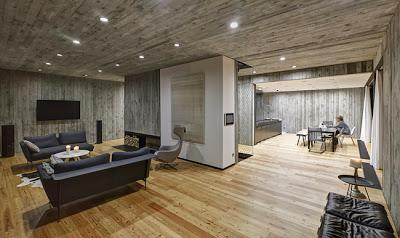 Casa moderna de hormigon y madera paperblog for Casas modernas hormigon visto