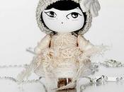 Mageritdoll: Little Vintage Mouse (Resin Doll Jewelry Joyas deMuñeca. Muñeca artística resina)