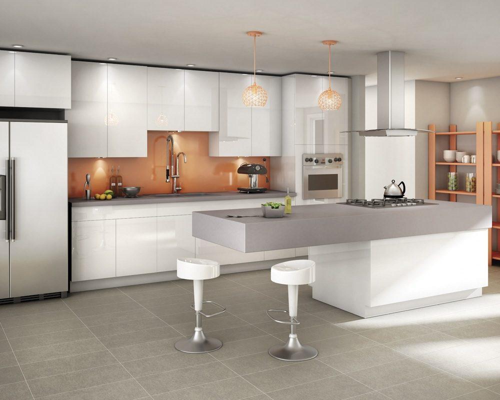 Isla o mesa en la cocina paperblog for Cocinas en l modernas