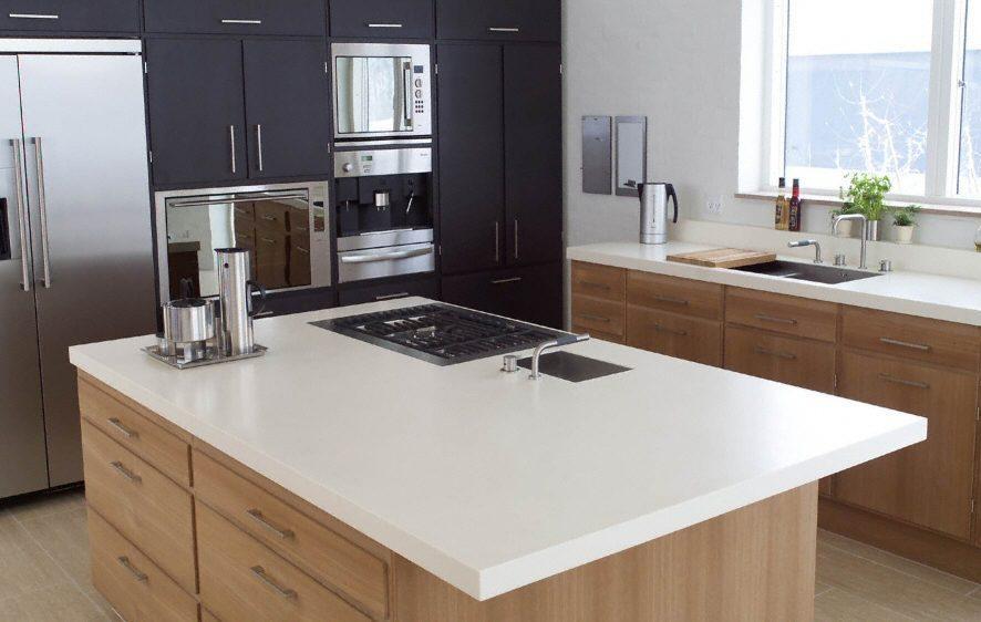 Isla o mesa en la cocina paperblog - Cocinas pequenas con mesa ...