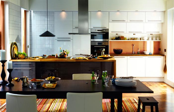 Isla o mesa en la cocina paperblog - Islas cocina ikea ...