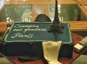 Tarta Torre Eiffel chocolate para cumpleaños