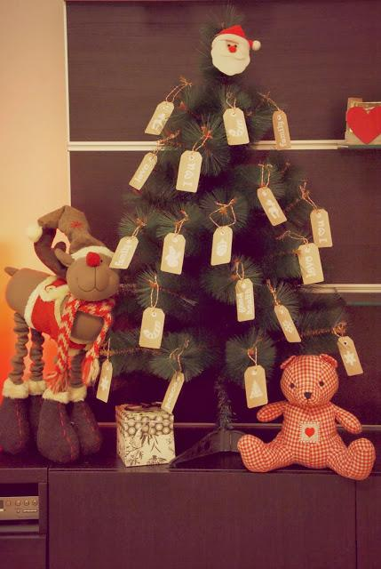 Diy decora tu rbol de navidad con etiquetas paperblog - Decora tu arbol de navidad ...