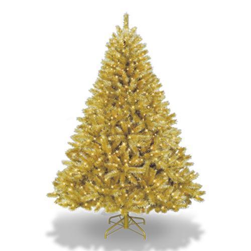 Lindos rboles de navidad dorados paperblog - Arboles de navidad dorados ...