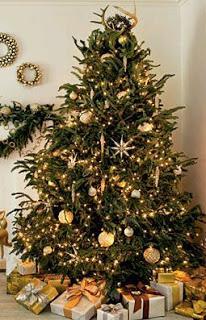 lindos rboles de navidad dorados
