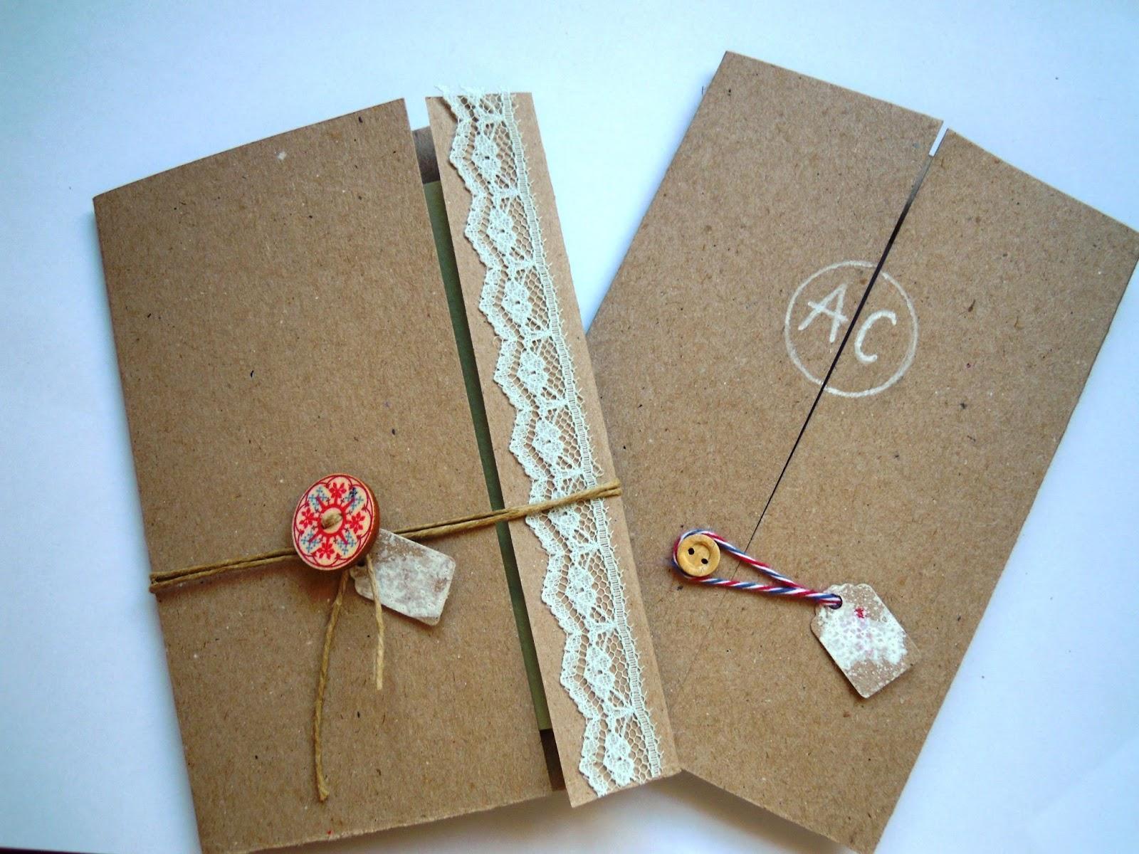 Invitaciones hechas a mano ii paperblog - Tarjetas de cumpleanos hechas a mano faciles paso a paso ...