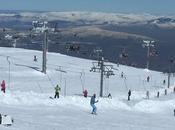Esquiando Manzaneda (Ourense)