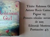 Reseña: Robinson Girl