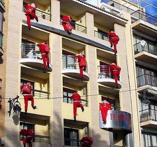 Lindos balcones navide os paperblog for Adornos navidenos para balcones