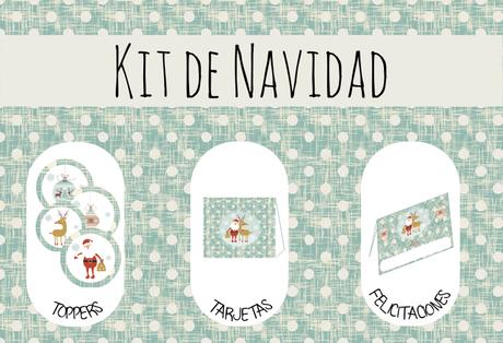 Kit de Fiesta de Navidad para tus fiestas especiales