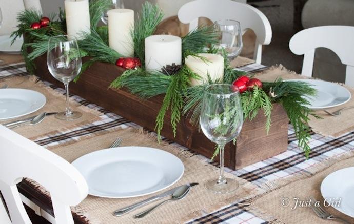 Adorna la mesa para estas fiestas paperblog - Centros de mesa caseros ...