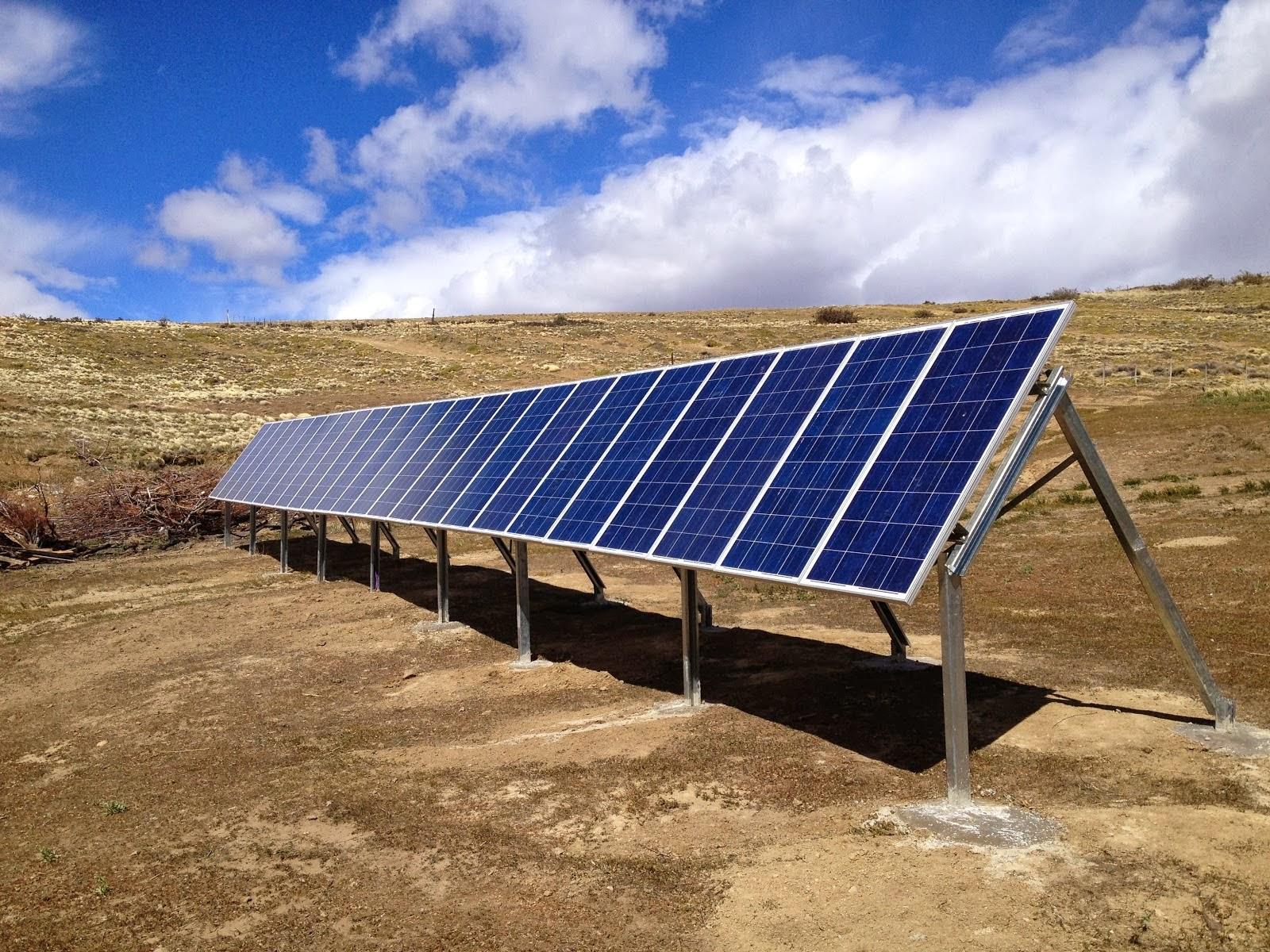 Paneles solares una forma de conseguir energ a paperblog - Paneles solares para abastecer una casa ...