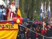 España niños holandeses: Duque Alba para asustarlos Nicolás traerles regalos