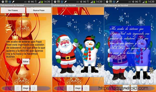 Aplicaciones y frases para felicitar la navidad especial - Felicitar la navidad por whatsapp ...