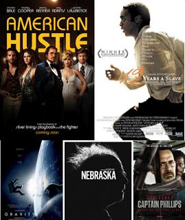 '12 años de esclavitud' y 'La gran estafa americana' encabezan las nominaciones a los Globos de Oro