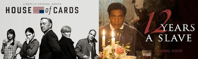'12 Años de Esclavitud' y 'La Gran Estafa Americana' dominan en las nominaciones a los Globos de Oro