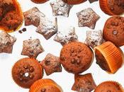 Magdalenas chocolate gluten para navidad