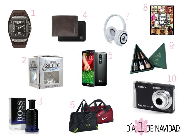 12 Dias De Navidad 1 Ideas De Regalos Ii Paperblog - Opciones-de-regalos-para-navidad