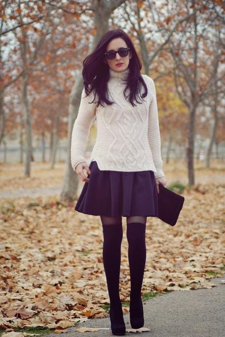 WEEKEND WEARCoat: Persun, Sweater: Zara, skirt: Frontrows...