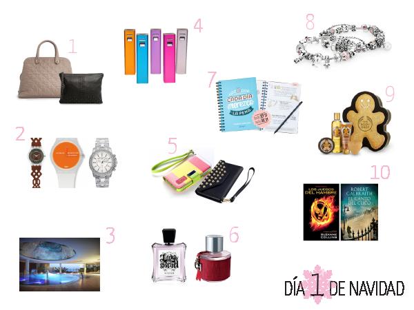 12 d as de navidad 1 ideas de regalos iii paperblog - Regalos para ella navidad ...
