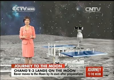 La China roja llega a la Luna