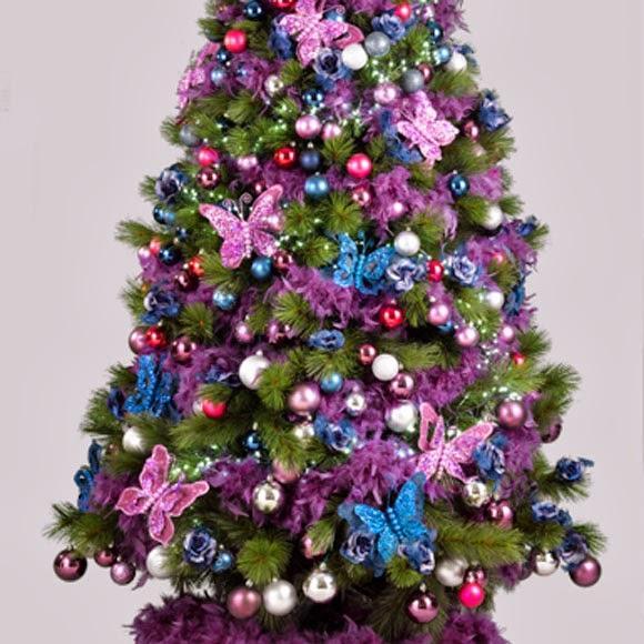 Arboles de navidad paperblog - Arboles de navidad colores ...