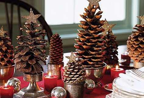 Decorar con pi as en navidad paperblog - Adornos de navidad hechos con pinas ...