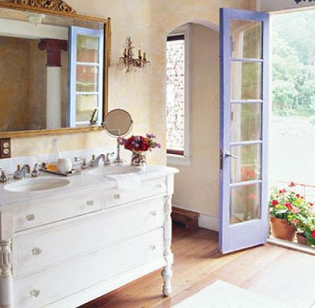 Lindos baños de estilo mediterráneo - Paperblog