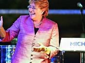 Triunfo Michelle Bachelet