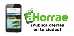 aHorrae app móvil para la promoción del comercio local 250x122