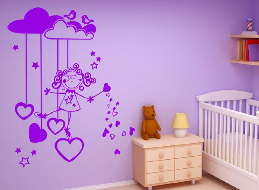 Habitaciones para bebes y ni os peque os paperblog - Pinturas habitaciones infantiles ...