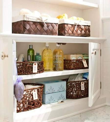 Juegos De Organizar Baños:tips para organizar los estantes para baño – Paperblog