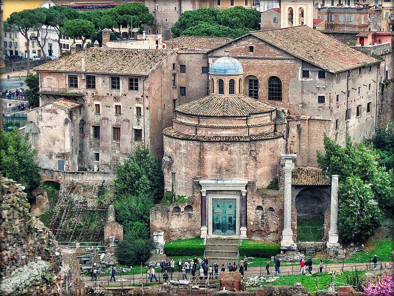El Foro romano en 3D (1ra. parte)