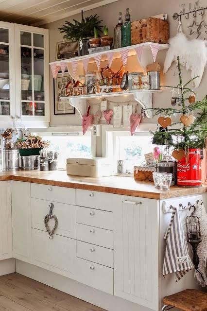 Navidad en la casita de campo paperblog for Decoracion navidena rustica