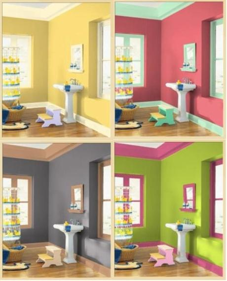 Consejos para elegir el color de tu ba o paperblog for De que color se puede pintar un bano