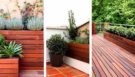 Ideas con madera para jardines terrazas paperblog for Ideas de terrazas de madera
