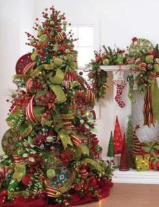 Fotos lindos rboles de navidad decorados paperblog - Arboles de navidad artificiales decorados ...