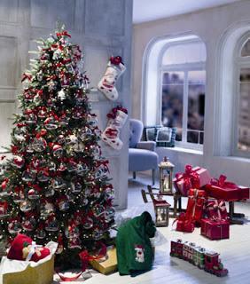 Fotos lindos rboles de navidad decorados paperblog - Imagenes de arboles navidad decorados ...