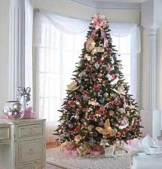 Fotos lindos rboles de navidad decorados paperblog for Imagenes de arbolitos de navidad adornados