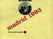 Allen Ginsberg: Madrid 1993: